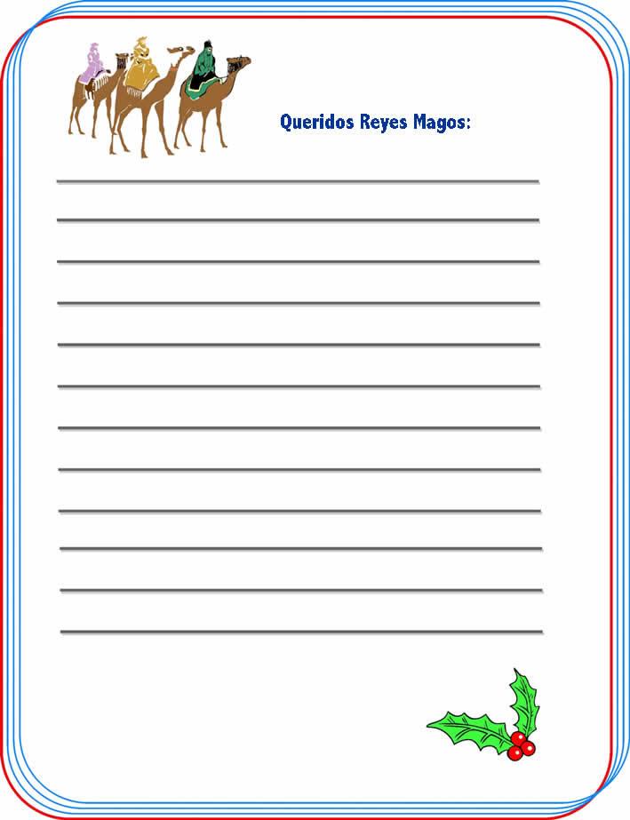 Escribir la Carta a los Reyes Magos online gratis